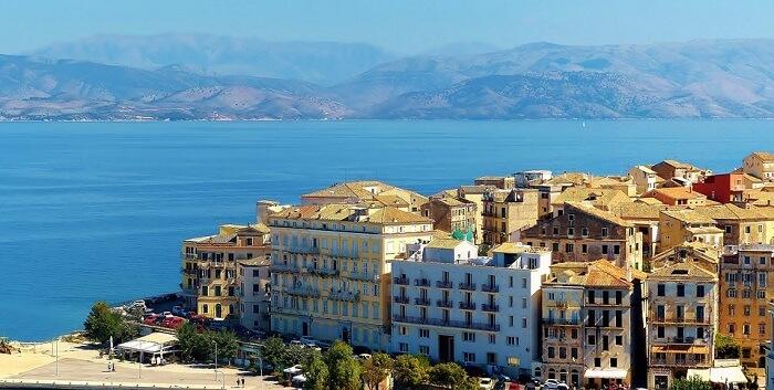 corfu island in greece