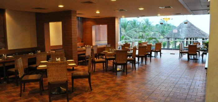 the lavish restaurant at country club jade beach resort, one of the prominent chennai beach resorts
