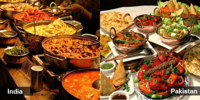 The cuisines of India and Pakistan