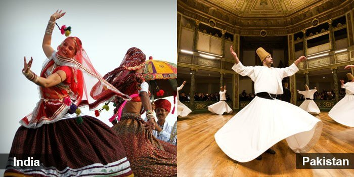 Both the nations have rich, traditional forms of dance