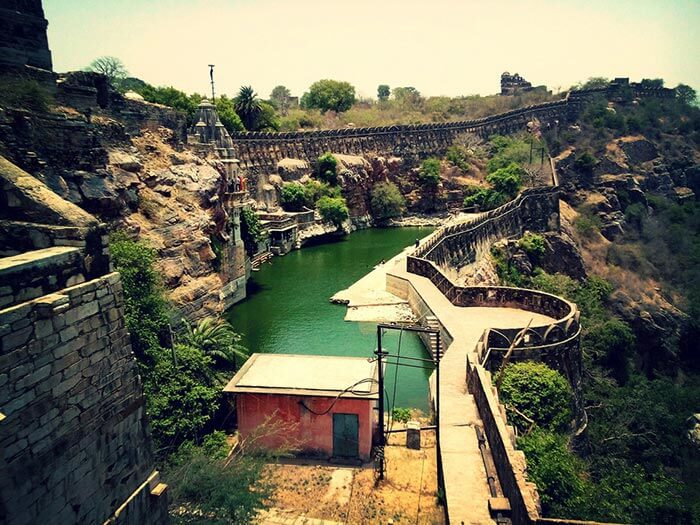 The water tank of Chittorgarh