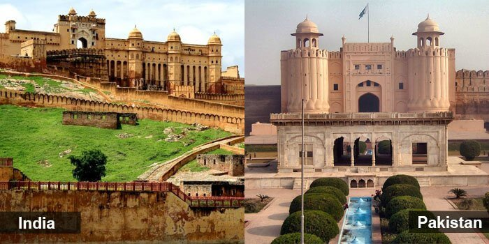 The monuments at India and Pakistan tell the amazing tales of the history of both countries