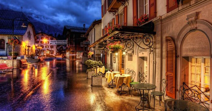 Down the romantic lanes of Switzerland