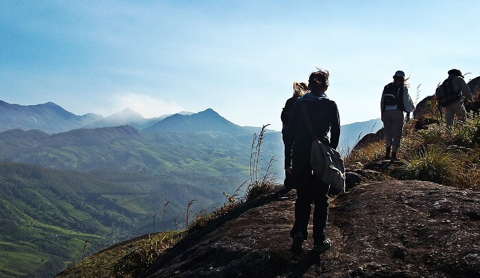 Trekking is among the most popular things to do in Munnar