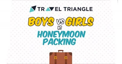 Honeymoon packing for boys vs those for girls