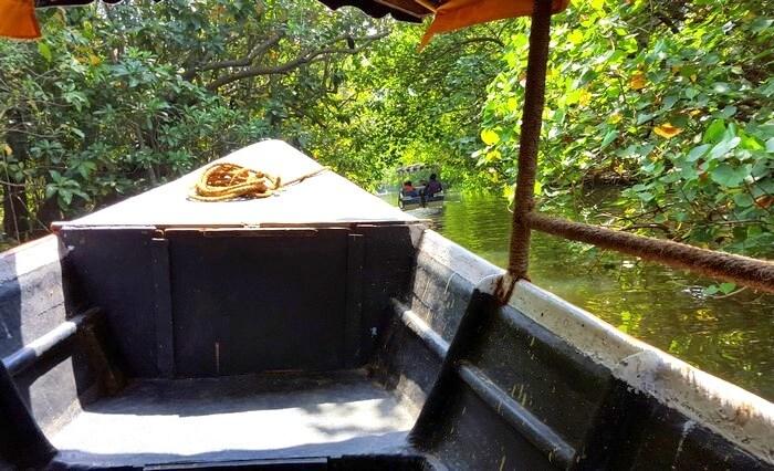 Boat in Poovar Island