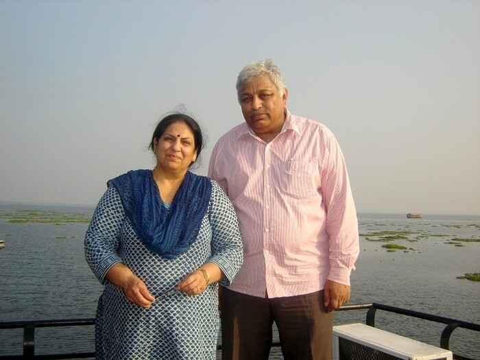 Jiten and his wife