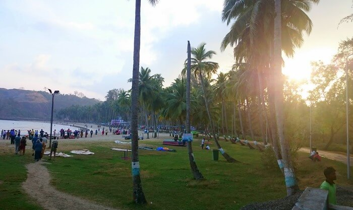 Abhinav's honeymoon in Andaman