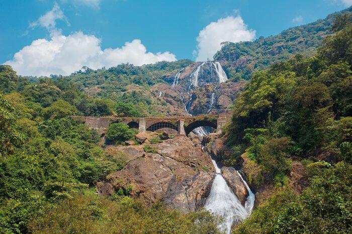 Dudhsagar Waterfallls in Goa