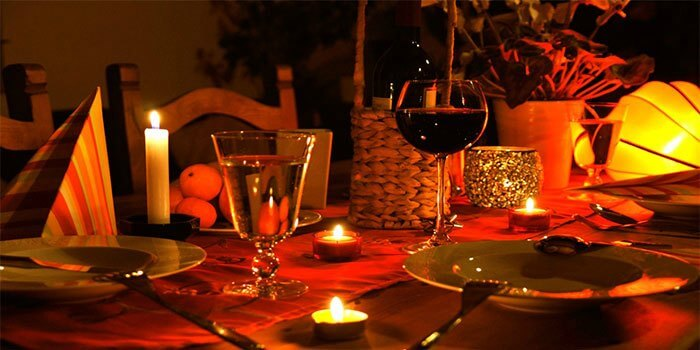 Grasshopper restaurant, among the most romantic dinner places in Bangalore