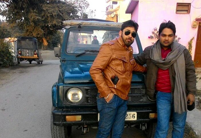 Rajveer and his friends on a sightseeing tour around Jim Corbett
