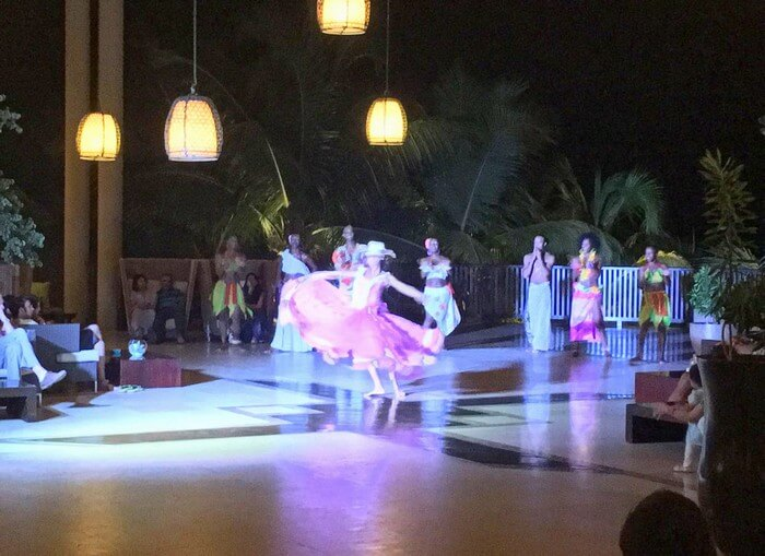 Dance evening in the InterContinental Reosrt