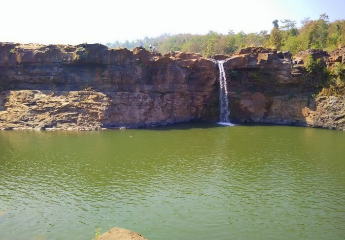 The Gira Falls near Satpura