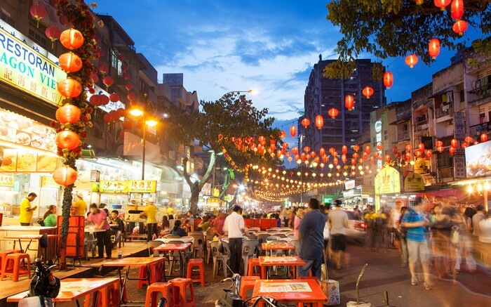 The lively eating haunt of Kuala Lumpur – Jalan Alor