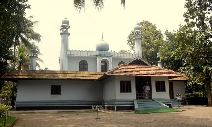 Juma Masjid in Kumarakom is the most pious spot for Muslim community