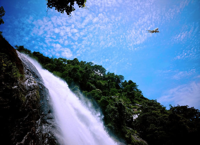 Marmala Waterfalls are one of the best tourist destinations near Kottayam
