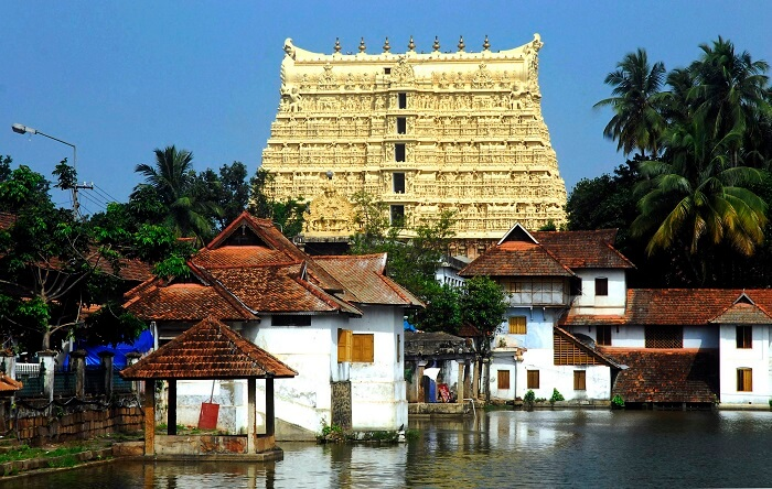 Padmanabhaswamy Temple is one of the richest temples in India