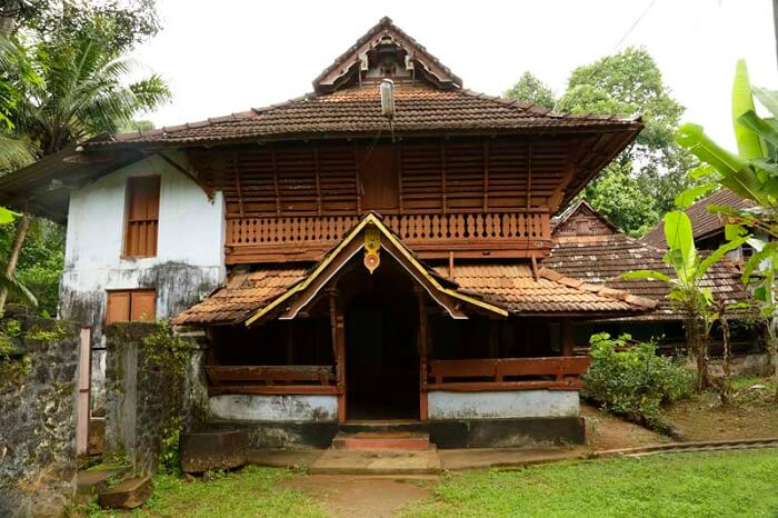 The beautiful heritage gracing the Poonjar Palace in Kottayam