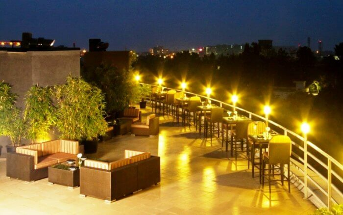 Sky Lounge in Svenska Design Hotel in Bangalore