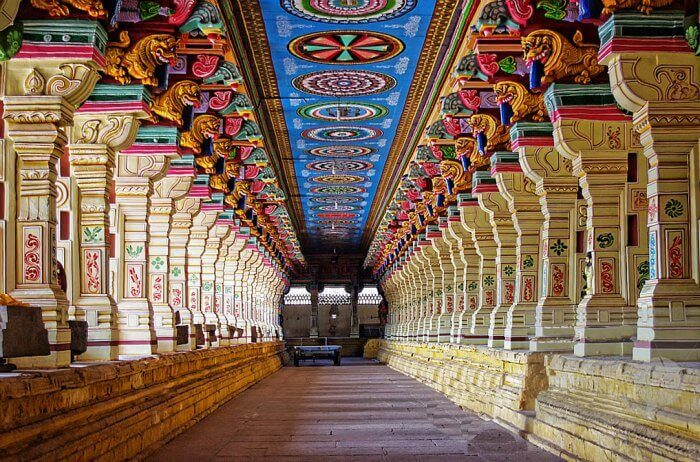 Sri Ramanathaswamy Temple, one of the most famous tourist spot in Rameshwaram