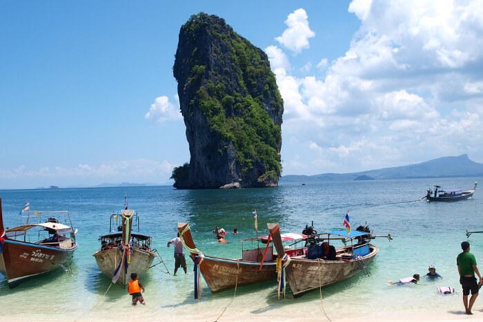 Ao Nange in Thailand
