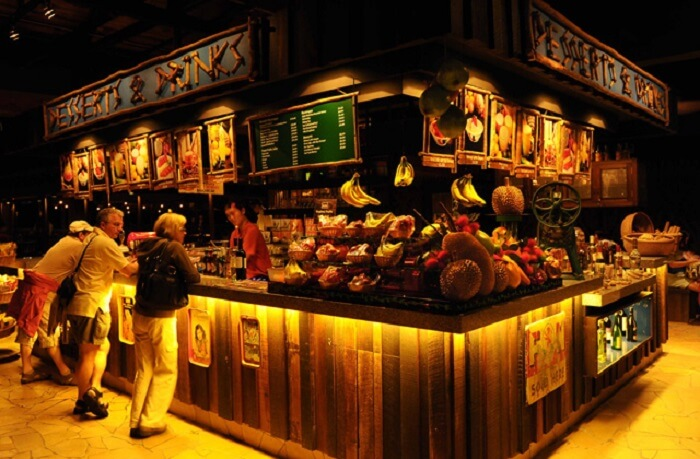 Ulu Ulu Safari Restaurant is one of the best dining options of Singapore Night Safari