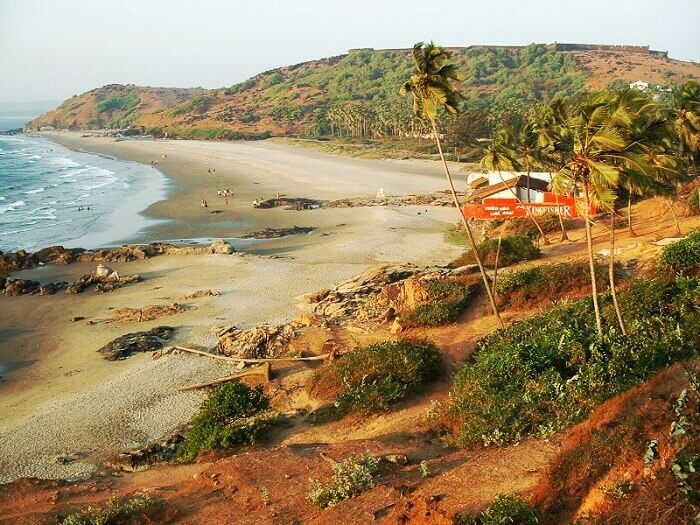 The most famous beach of Goa known for Sunburn