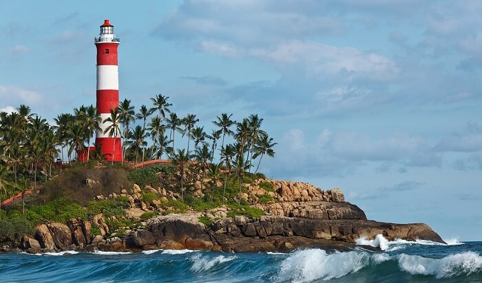 The Vizhinjam Lighthouse one of the best viewing points in Trivandrum