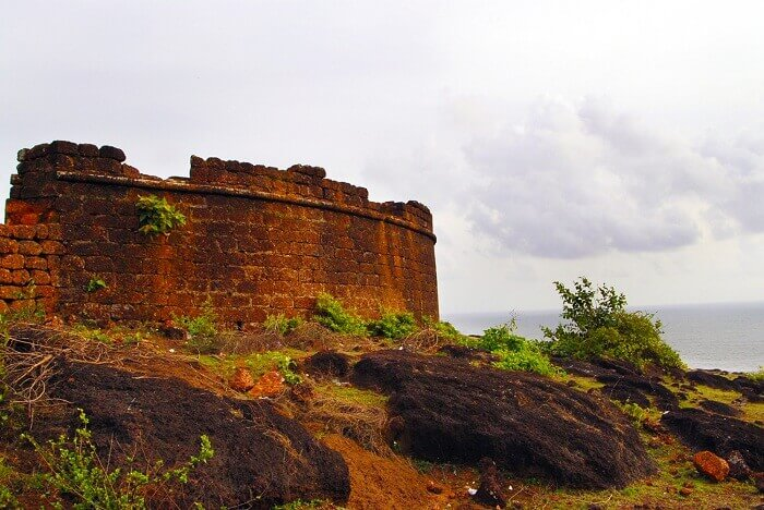 The famous Dil Chahta Hai fort in North Goa