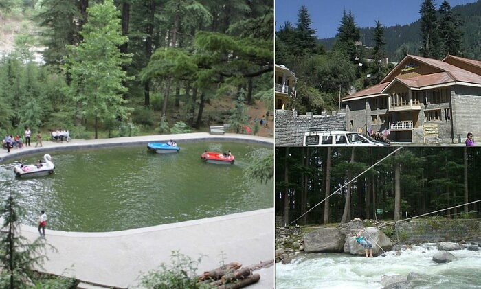 Many activities that one can undergo at Club House - one of the tourist places in Manali