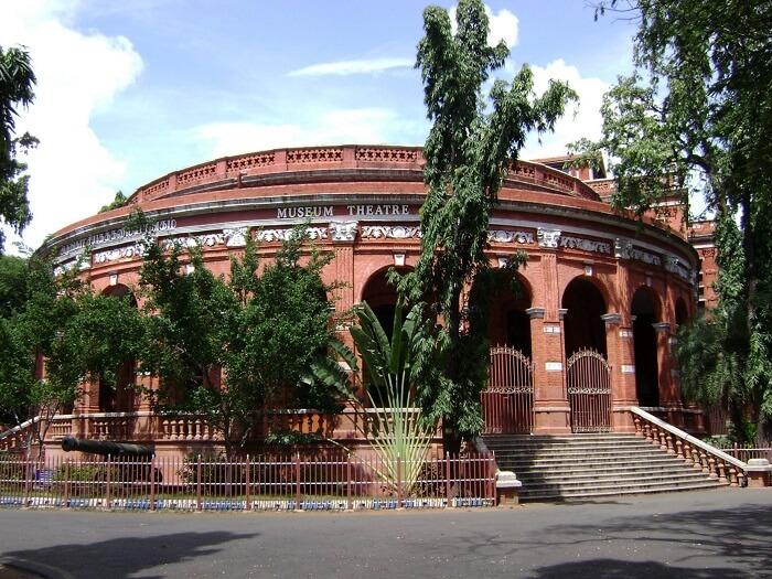 entrance of egmore museum