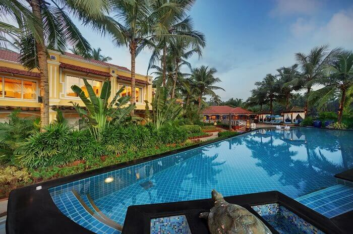 The luxurious hotels of South Goa