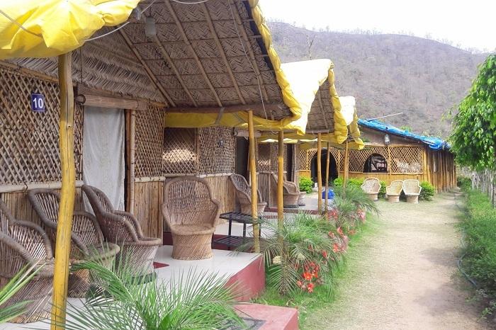 Super luxury cottage at the Vatica Luxury Jungle Camp Resort In Rishikesh