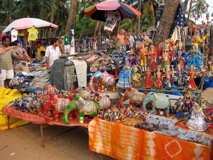The sasti market in Goa