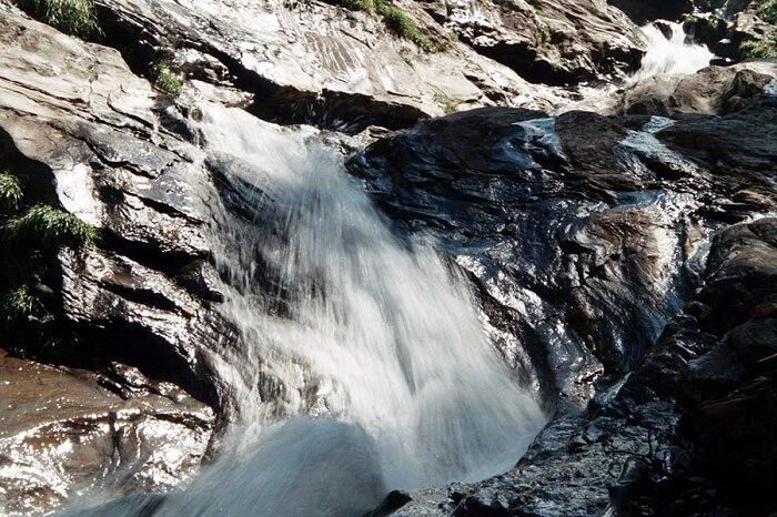 The magnificent Rahala Waterfalls located near Manali