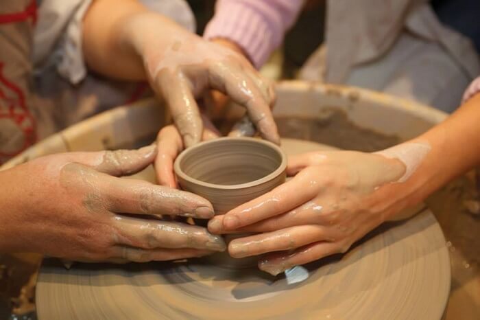 relish a couple pottery session with your beau