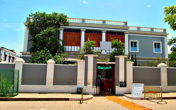 Aurobindo Ashram Pondicherry