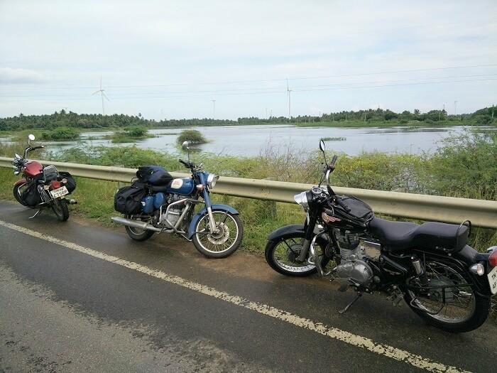 Sundar and Sachins Royal Enfields