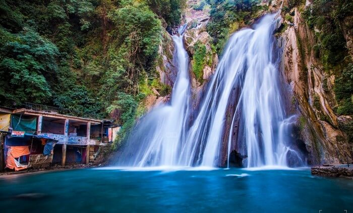 Kempty Falls is one of the most popular places for sightseeing in Mussoorie