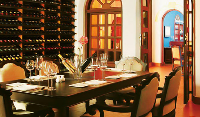 The fine dining at the Baker's Gourmet at the Vivanta-by-Taj-Kumarakom