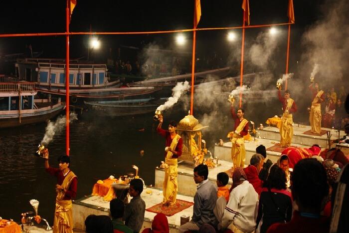 Ganga arti in Rishikesh