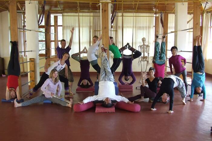Himalaya Shanti Ashram Yoga teachers training with Sharat Arora