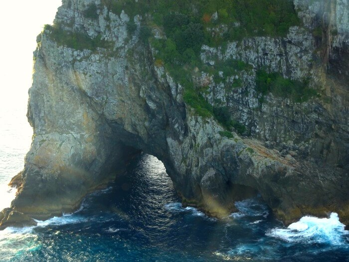 Hole in the Rock in Bay of Islands