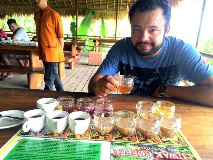 Ritikas husband in Bali