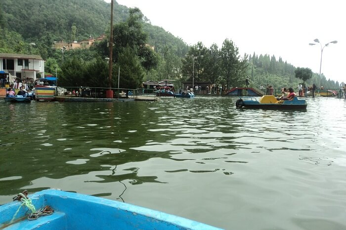 Boating in Mussoorie lake is among the most popular activities in Mussoorie