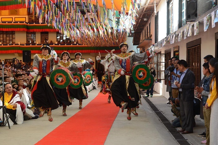 TIPA artistes perform for Dalai Lama