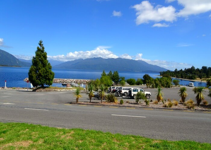 Scenery from TranzAlpine train in New Zealand