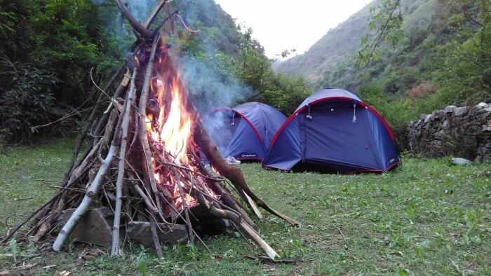 Indulge in camping in the quaint hill town of Mashobra