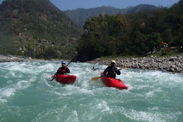 Enjoy Kayaking in Rishikesh