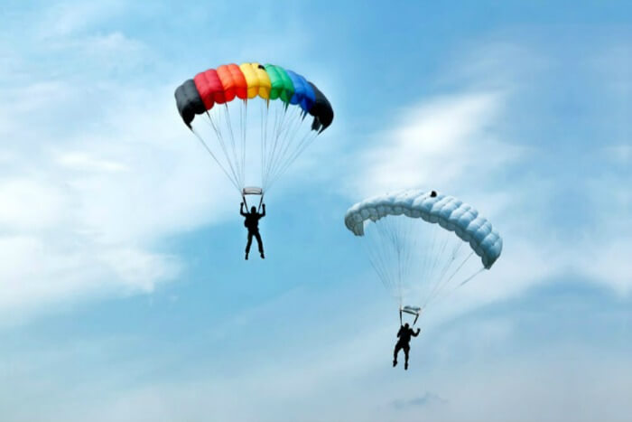 Touch the sky while parasailing and paragldiing in Rishikesh